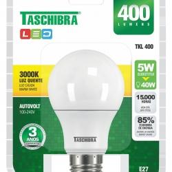 Lâmpada LED TASCHIBRA 5w 3000K