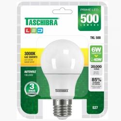 Lâmpada LED TASCHIBRA 6w 3000K