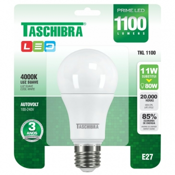Lâmpada LED TASCHIBRA 11w 6500K